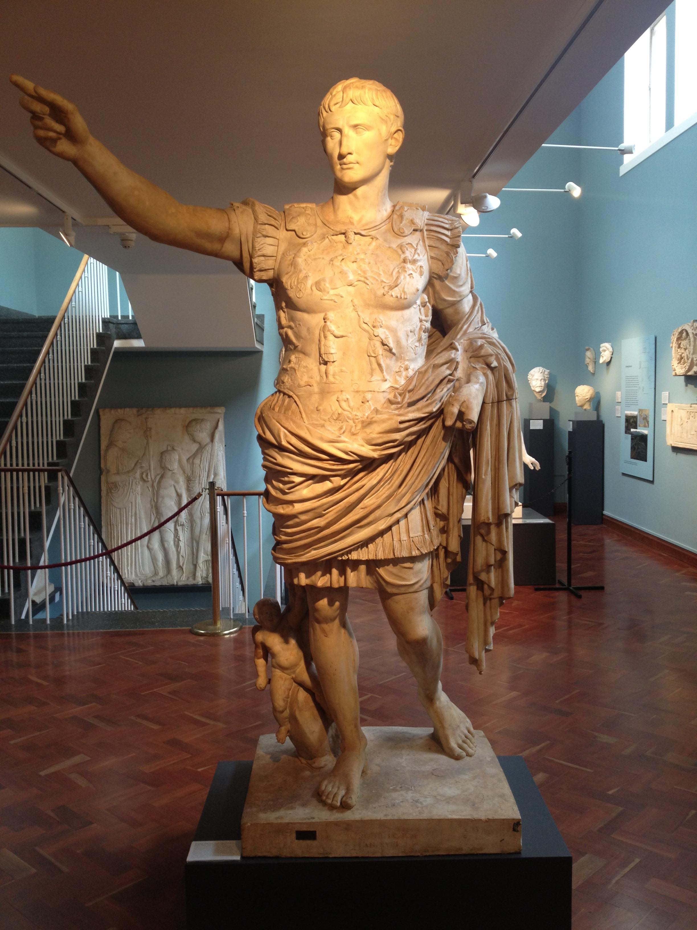 Augustus Caesar. Boffo chap.