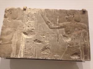 Pharaoh Ptolemy I Soter sacrificing