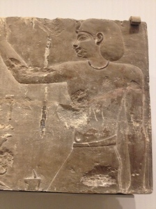Close up of Pharaoh Ptolemy