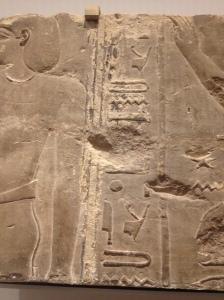 Hieroglyphs. Ptolemy's name?
