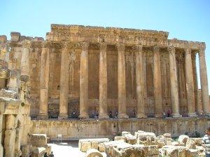 Temple of Bacchus, Baalbek (Wikipedia)