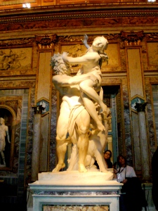 The Rape of Proserpina by Bernini (1621-2)