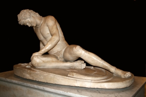 The Dying Gaul? He's not drunk, he's just had too much to drink