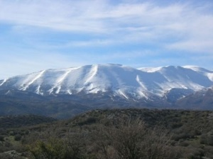 Mount Ida (Psiloritis) in Crete. Credit: sacvoyage on Tumblr)