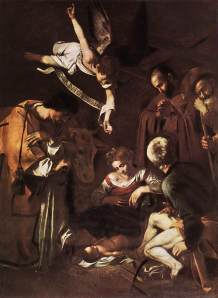The Nativity by Caravaggio (Wikipedia)