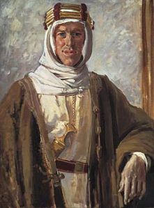 T E Lawrence (1888 - 1935)