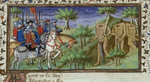 Alexander_encounters_the_Blemmyae_-_British_Library_Royal_MS_20_B_xx_f80r_(detail)